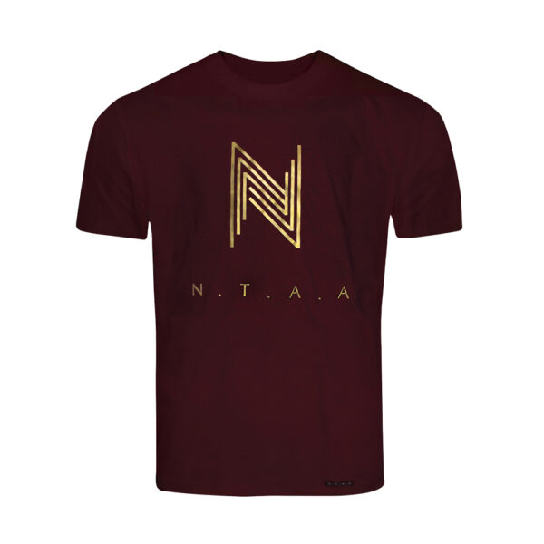 """Wine Red x Gold NTAA T-Shirt"" 1"