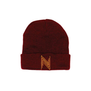 """Wine Red x Gold Toque"" 1"