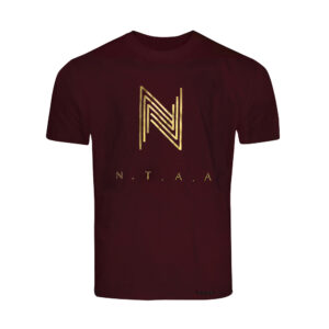 """Wine Red x Gold NTAA T-Shirt"" 1"